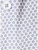 XOOS Chemisier femme à motifs imprimé fleuri bleu