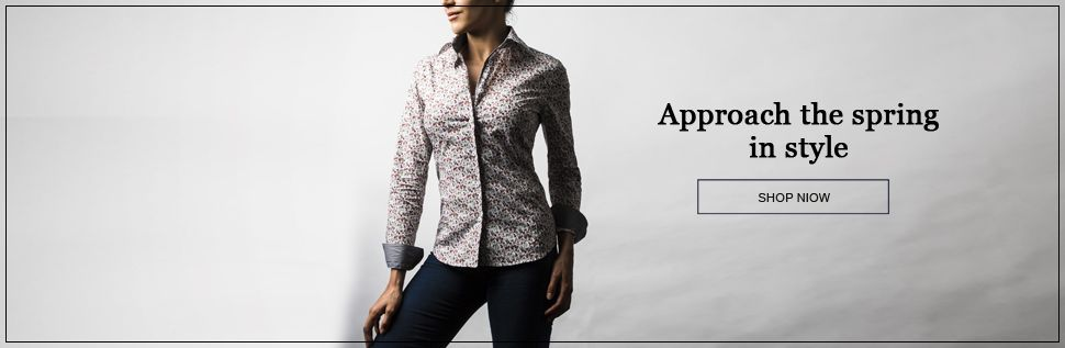 Limited editions refined Parisian ladies blouses, 100% coton.