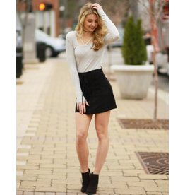 Skirts 62 Trend On Lace Up Suede Skirt