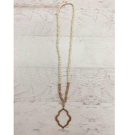 Jewelry 34 Quatrefoil Necklace