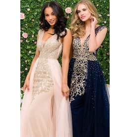 Formalwear Jovani Embellished  Column Prom/Formal Dress