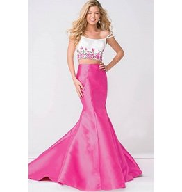 Formalwear Jovani Two Piece Mermaid Prom/Formal Dress