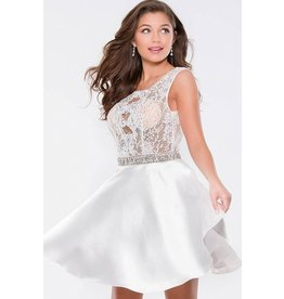 Formalwear Jovani Lace Fit And Flare Prom/Formal Dress