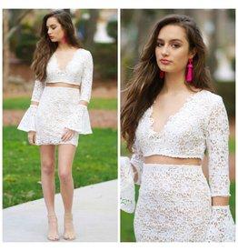 Dresses 22 Crochet Crush White Dress