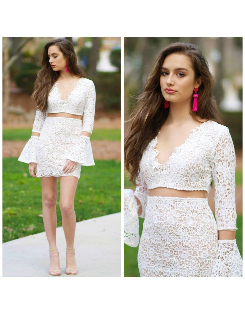 Dresses 22 Crochet Crush White Dress