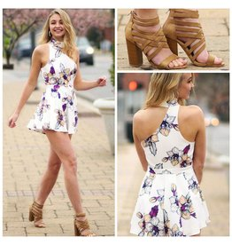 Rompers 48 Grow With It Floral Romper