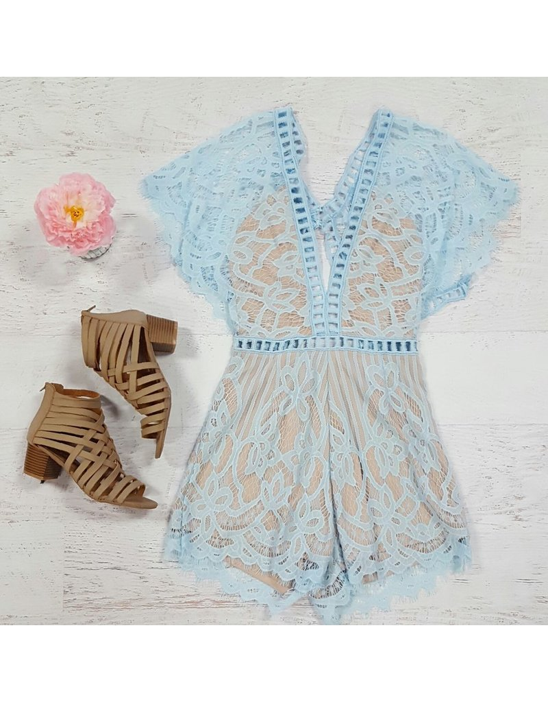 Default So Lovely in Lace Romper