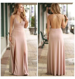 Dresses 22 Yours Truly Mauve Maxi Dress