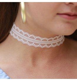 Jewelry 34 White Lace Choker