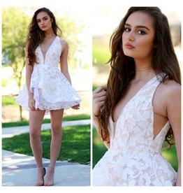 Default Spring Romance Lace Dress