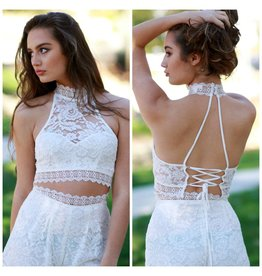Tops 66 Lace Lover White Top