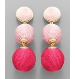 Jewelry 34 3 Ombre Ball Earrings
