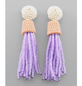 Jewelry 34 Seed Bead Tassel Earrings