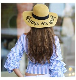 Accessories 10 Always On Vacay Summer Hat