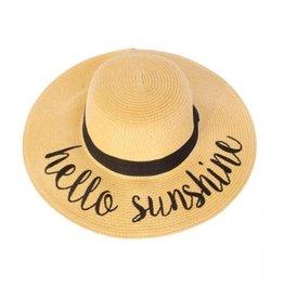Accessories 10 Hello Sunshine Summer Hat