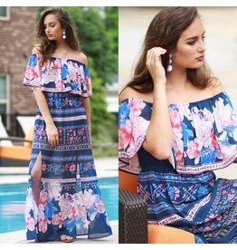 Dresses 22 Garden Party Floral Maxi Dress