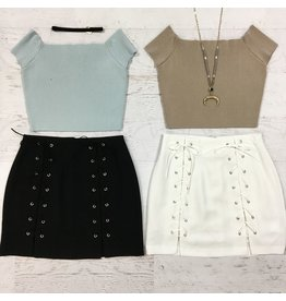 Skirts 62 Lace Me Up Summer Skirt