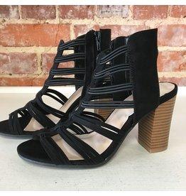 Shoes 54 Taking Summer Strides Black Sandal