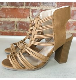 Shoes 54 Taking Summer Strides Tan Sandal