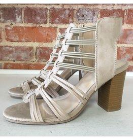 Shoes 54 Taking Summer Strides Taupe Sandal