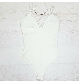 Tops 66 Beautiful Dreamer White Bodysuit