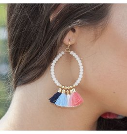 Jewelry 34 Bright and Fun Tassel Earrings