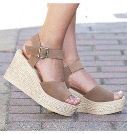 Shoes 54 Summer Strides Mocha Espadrille