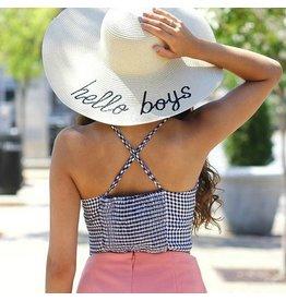 Accessories 10 Hello Boys Summer Hat