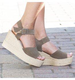 Shoes 54 Summer Strides Olive Espadrille