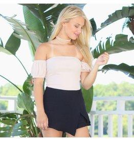 Shorts 58 Hot Summer Day Black Skort