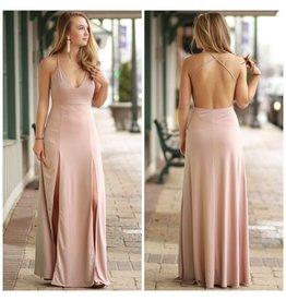 Dresses 22 Yours Truly Mauve Maxi Dress