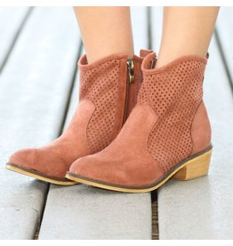 Shoes 54 Fall For Me Bootie Copper