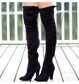 Shoes 54 Over The Knee Black Boot