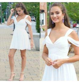 Dresses 22 Summer Chiffon White Party Dress