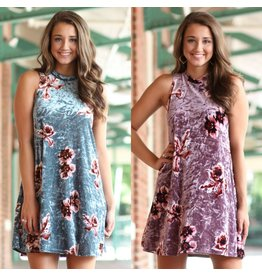 Dresses 22 Velvet Occasion Floral Dress