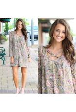 Dresses 22 Fresh Take Olive Floral Dress