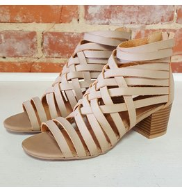 Shoes 54 Strappy and Happy Heel Sandal