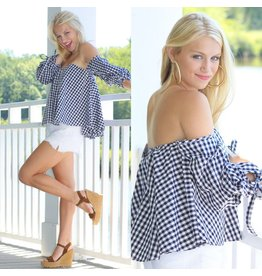 Tops 66 Gingham & Girly Top