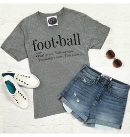 Tops 66 Definition Football Tee