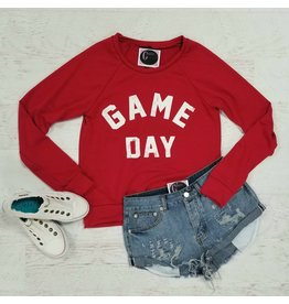 Tops 66 Red Gameday Sweatshirt