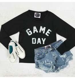 Tops 66 Black Gameday Sweatshirt