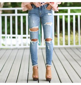 Pants 46 Match Maker Distressed Denim