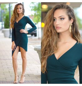 Dresses 22 Thinking Out Loud Teal Dress