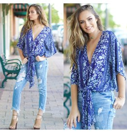 Tops 66 All Fleur You Floral Top