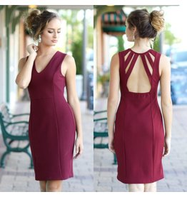 Dresses 22 Take A Look At Me Now Burgundy Dress