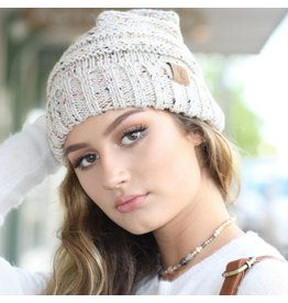 Accessories 10 CC Doll Oatmeal Confetti Hat