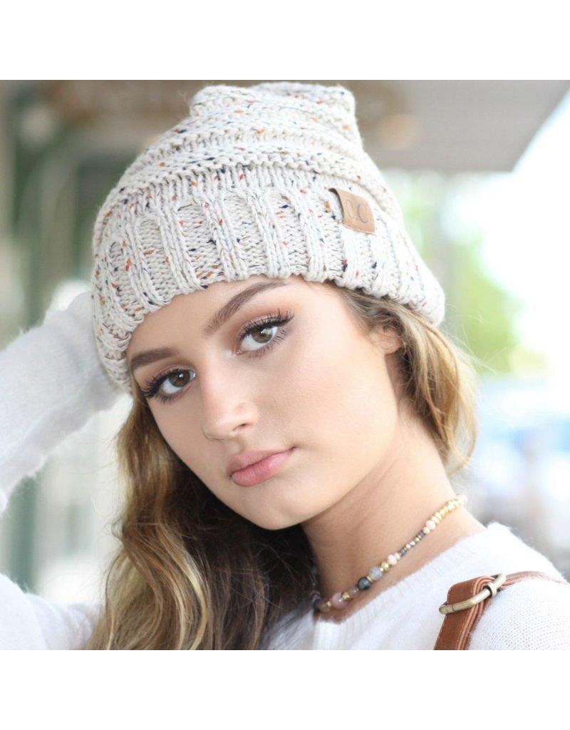 Accessories 10 CC Doll Oatmeal Confetti Hat