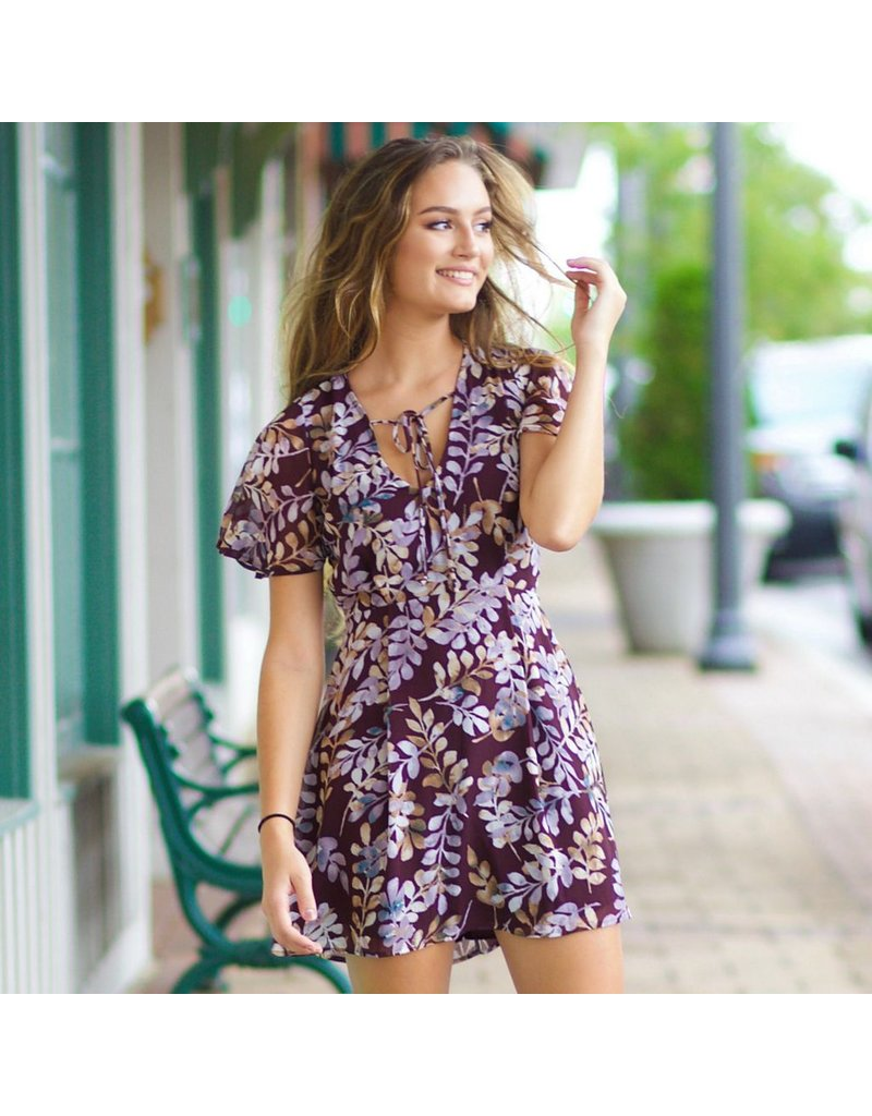 Dresses 22 Fall Essential Lavender Floral Dress