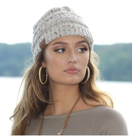 Accessories 10 Winter Beige Confetti CC Doll Hat