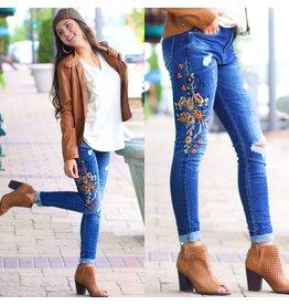Pants 46 Embroid Me Denim Jeans